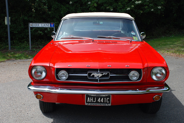 1965 Ford Mustang V8 Convertible Front