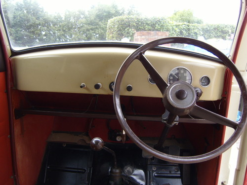 1957 Ford Popular 103E Dashboard Steering Wheel