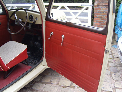 1957 Ford Popular 103E Interior Door