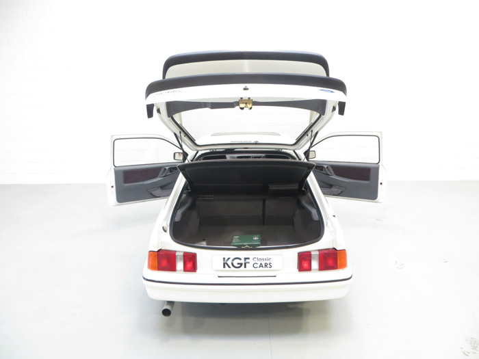 1987 Ford Sierra RS500 Cosworth Boot