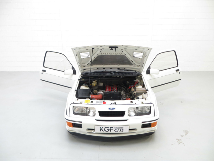 1987 Ford Sierra RS500 Cosworth Engine Bay