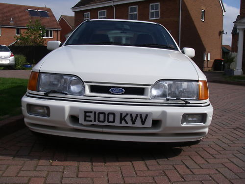 1988 ford sierra rs cosworth front