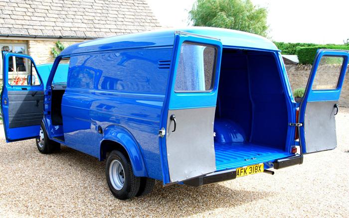 Featured Cars - Ford - Transit - 1981 Ford Transit MK2 LWB ...