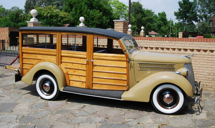 1936 Ford Woodie Station Wagon 3