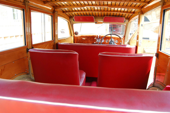 1936 Ford Woodie Station Wagon Interior