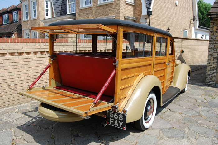 1936 Ford Woodie Station Wagon Rear