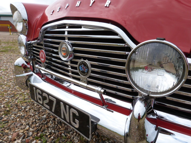 1959 Ford Zephyr MK2 2.6 Low Line Front Grille