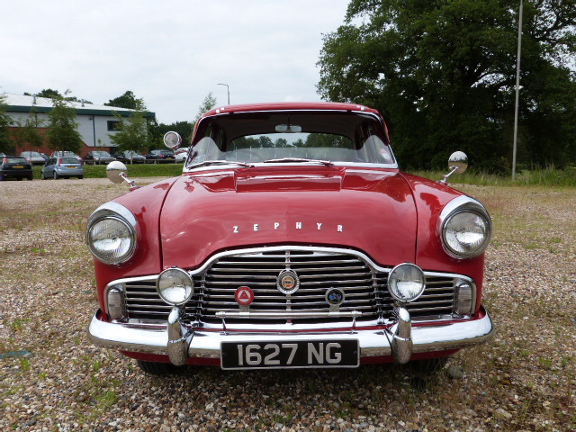 1959 Ford Zephyr MK2 2.6 Low Line Front
