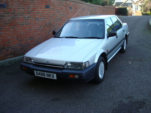 1986 Honda Accord 4AD II 2.0 2