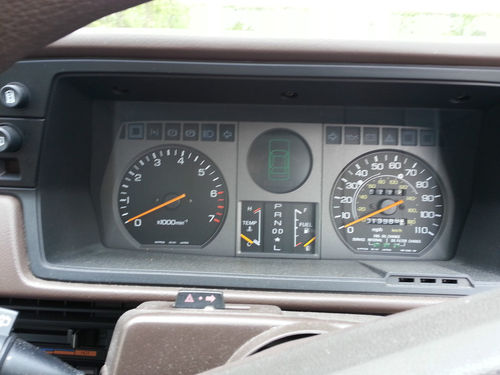 1983 MK 2 Honda Accord EX Auto Dashboard