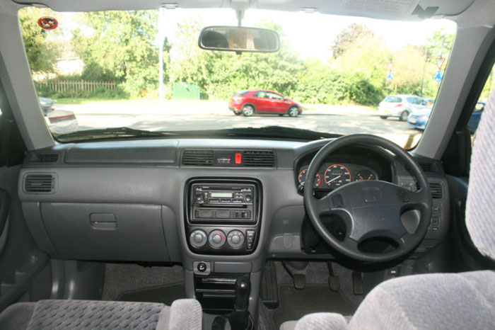 2001 honda cr-v special edition 4wd dashboard