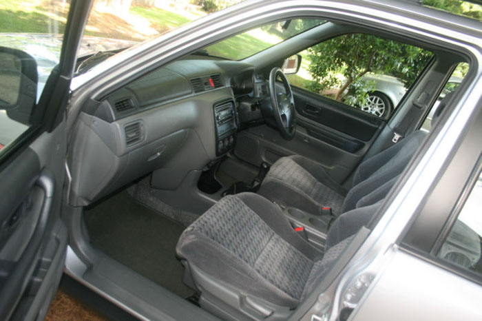 2001 honda cr-v special edition 4wd interior 1