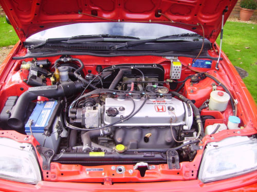 1990 Honda Civic 4th Gen 1.4 GL Engine Bay