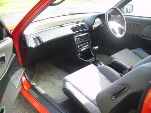 1990 Honda Civic 4th Gen 1.4 GL Front Interior 1