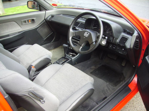 1990 Honda Civic 4th Gen 1.4 GL Front Interior 2