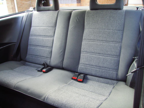 1990 Honda Civic 4th Gen 1.4 GL Rear Interior