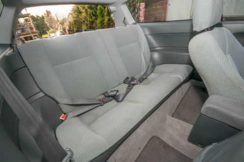1993 Honda Civic EG 1.5 LSi Rear Interior