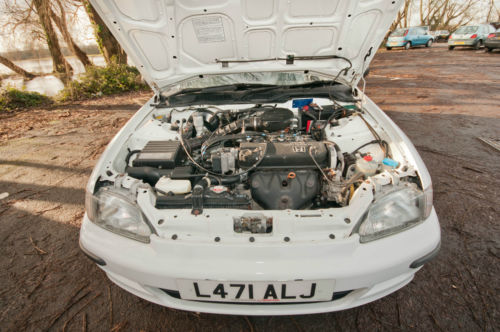 1993 Honda Civic EG 1.5 LSi Under Bonnet
