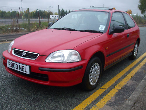 1998 r honda civic 1.4 automatic 1