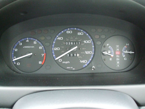 1998 r honda civic 1.4 automatic dashboard