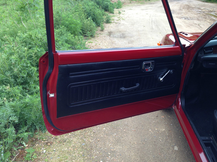 1976 Honda Civic MK1 Interior Door