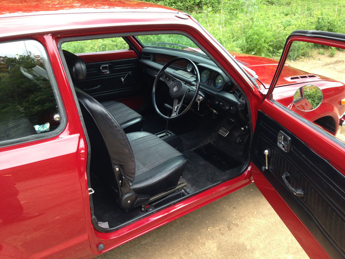 1976 Honda Civic MK1 Interior