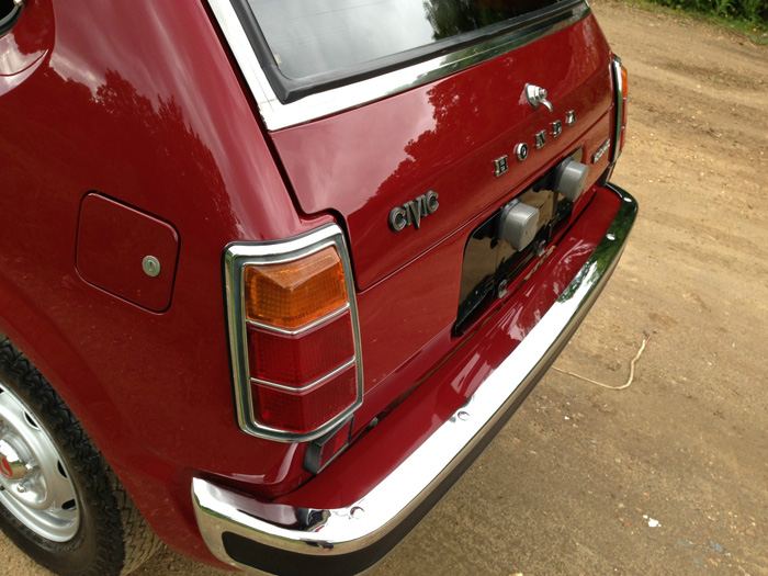 1976 Honda Civic MK1 Rear