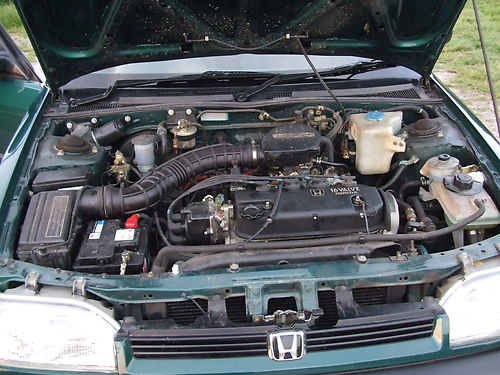 1994 Honda Concerto 1.5 Engine Bay