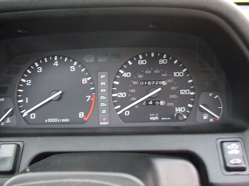 1994 Honda Concerto 1.5 Gauges