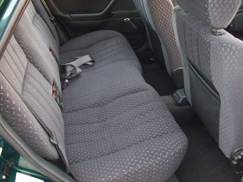 1994 Honda Concerto 1.5 Rear Interior