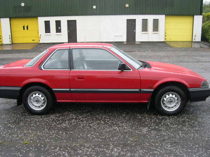 1984 honda prelude gm red 2