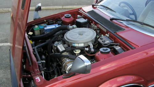 1980 honda prelude japanese import 1.8l auto engine bay 2