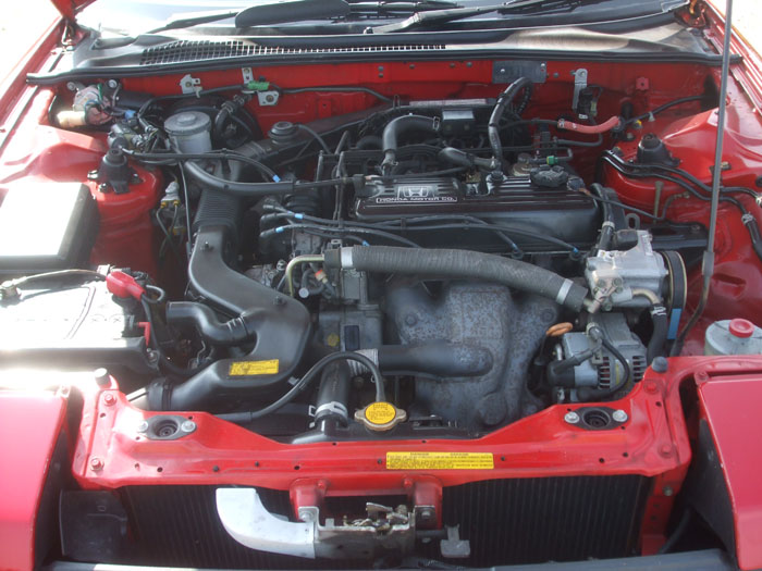 1991 Honda Prelude EX Auto Engine Bay