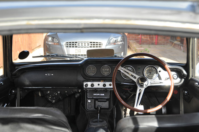1969 Honda S800 Interior Dashboard Steering Wheel