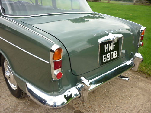 1964 humber hawk saloon back