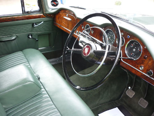 1964 humber hawk saloon dashboard