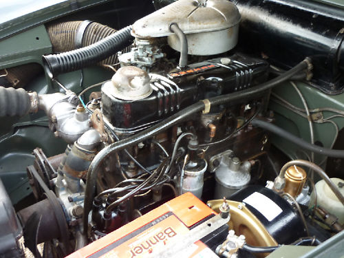 1964 humber hawk saloon engine