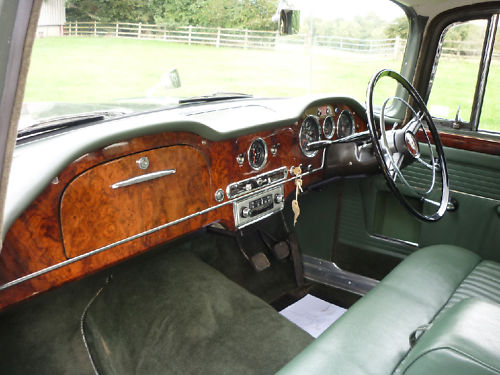 1964 humber hawk saloon interior 1