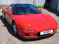 106 1991 honda nsx 3.0 manual red icon
