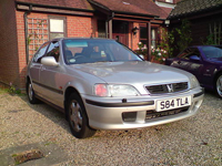 112 1999 honda civic 1.6i es silver icon