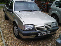 114 1988 vauxhall cavalier l silver icon