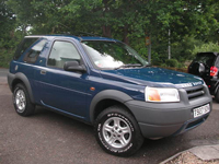 119 1999 land rover freelander xei 1.8l blue icon