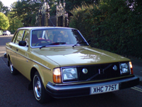 176 1979 volvo 244 dl auto yellow icon