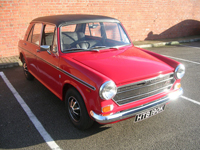179 1971 austin 1300 gt flame red icon