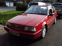 212 1994 volvo 440 li red icon