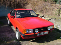 281 1982 ford cortina mk5 2 door 2.8 v6 icon