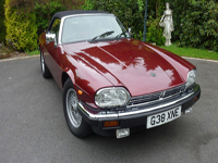 301 1990 jaguar xjs v12 convertible regency red icon