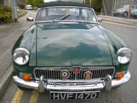 31 mgb 1800cc roadster new heritage shell icon