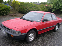 312 1984 honda prelude gm red icon