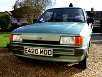 33 1988 ford fiesta popular icon